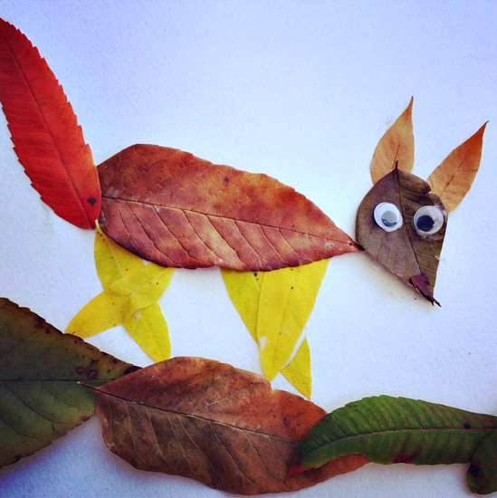 leaf-fox-craft-for-kids-