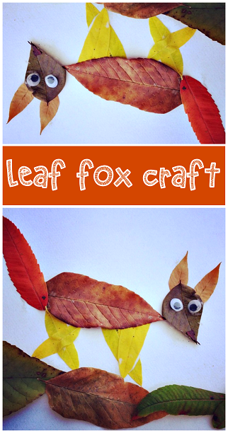 fox leaf craft fall crafts for to make crafty morning 2045