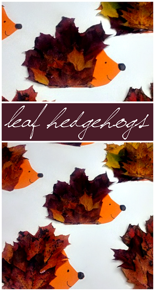 leaf-hedgehog-craft-for-kids-to-make