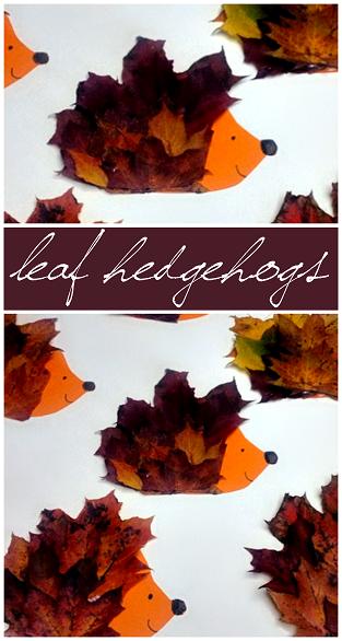 leaf-hedgehog-craft-for-kids-to-make