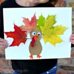 Leaf Turkey Craft for Kids
