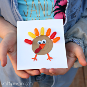 Mike and Ike Turkey Craft for Thanksgiving