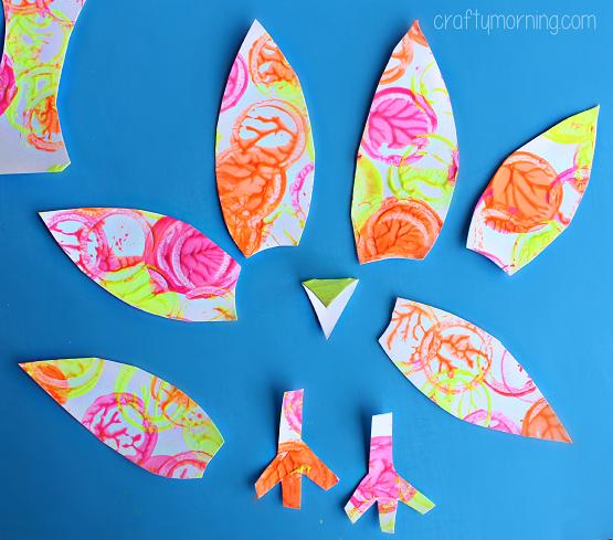 neon-turkey-craft-for-kids