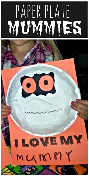paper-plate-mummy-craft-for-halloween