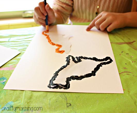 pencil-eraser-black-cat-craft-for-kids