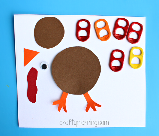 soda-pop-tab-turkey-craft-for-kids-