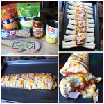 Hawaiian Pizza Braid Recipe (Pineapple & Canadian Bacon)