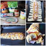 Hawaiian Pizza Braid Recipe (Pineapple & Canadian Bacon)