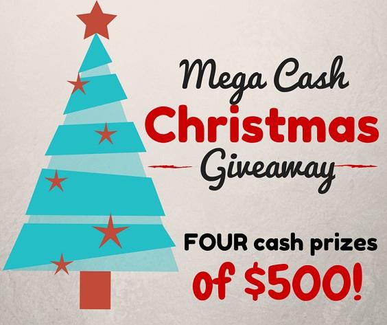 Mega Cash Christmas Giveaway (1)