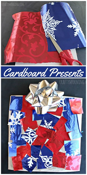 cardboard-christmas-present-craft-for-kids-