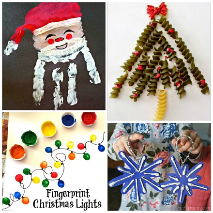 List of Christmas Crafts for Kids to Create