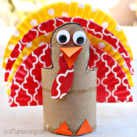 cupcake-liner-turkey-craft-for-kids-