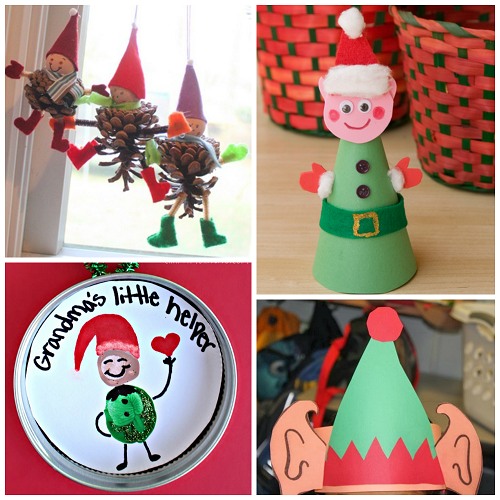 Elf Christmas Craft For Kids