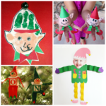 Elf Crafts for Kids to Make at Christmas