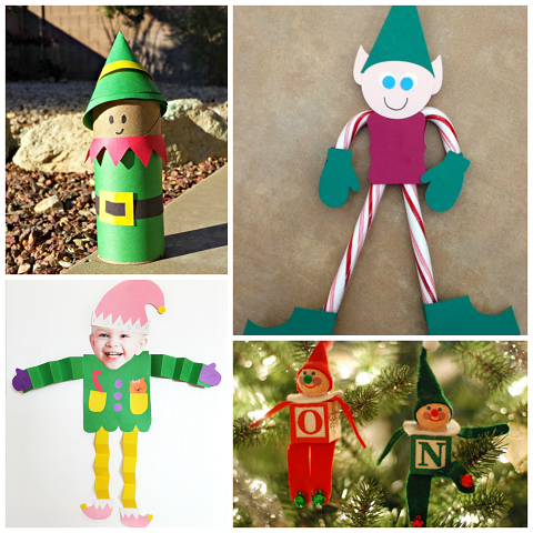 Elf crafts for kids to make at christmas crafty morning for Christmas crafts for kids to make