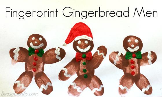 fingerprint-gingerbread-men-crafts