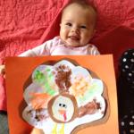 Darling Footprint Turkey Craft for Babies & Toddlers