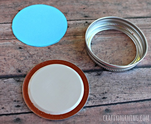 frozen-olaf-fingerprint-mason-jar-lid-ornament