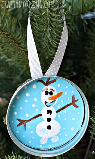 frozen-olaf-fingerprint-snowman-ornament