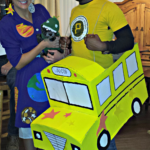 Mrs. Frizzle & The Magic School Bus Couples Costume