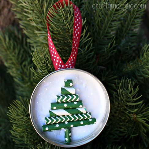 mason-jar-lid-christmas-tree-ornament-craft