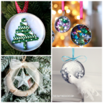 Mason Jar Lid Ornament Ideas to Make for Christmas