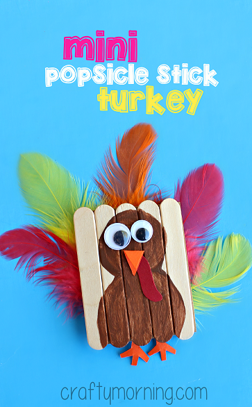mini-posicle-stick-turkey-craft-for-kids