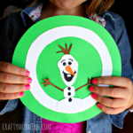 O is for Olaf - Winter Alphabet Craft for Kids