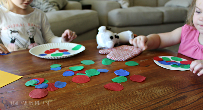 Paper Plate Ornament Craft For Kids
