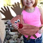Paper Plate Reindeer Craft for Kids