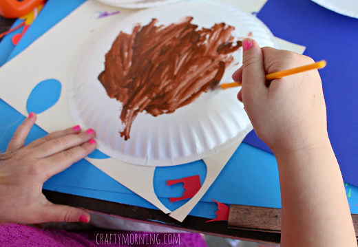 Paper Plate Reindeer Craft for Kids & Paper Plate Reindeer Craft for Kids - Crafty Morning