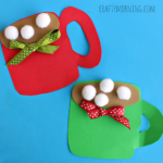 Pom Pom Hot Cocoa Mug Craft for Kids