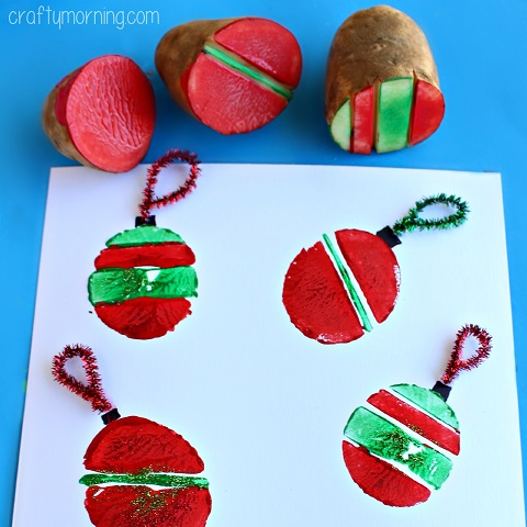 potato-stamping-ornament-craft-for-kids-