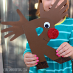 R is for Reindeer/Rudolph (Alphabet Craft for Kids)