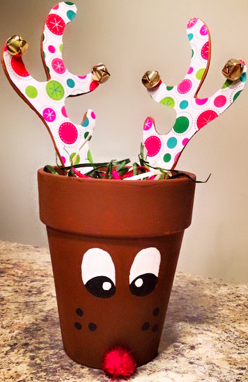 Terra Cotta Pot Christmas Craft Ideas