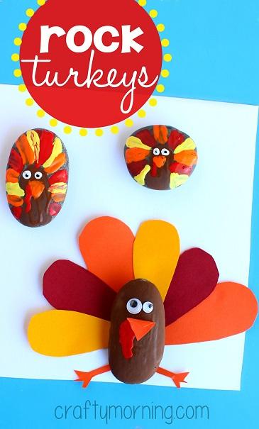 rock-turkey-craft-for-kids-to-make