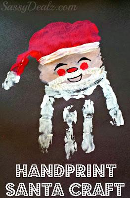 santa-claus-handprint-craft