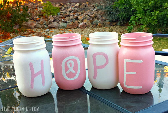 breast-cancer-awareness-mason-jar-decor