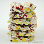 Christmas Bark Recipe (Pistachios and Cranberries)