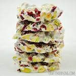 Christmas Bark Recipe (Pistachios and Cranberries)