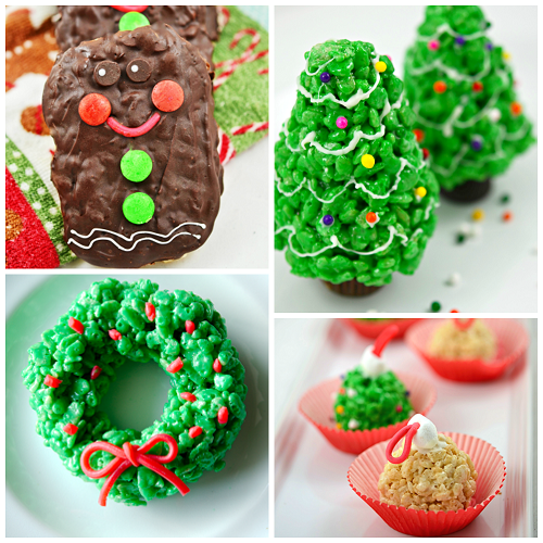 Rice Crispy Treat Christmas.Fun Christmas Rice Krispie Treats To Make Crafty Morning