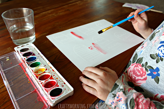 crayon-resist-mitten-craft-for-kids