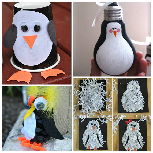 Creative Penguin Crafts For Kids