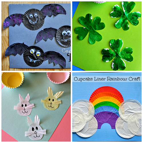 easy-cupcake-liner-crafts-for-kids