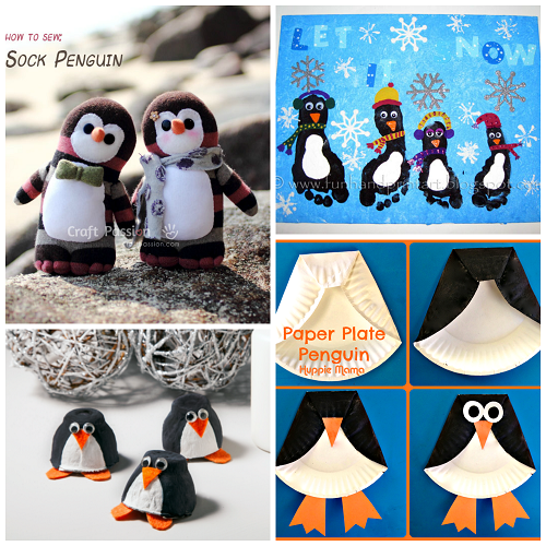 Easy Penguin Crafts For Kids To Make