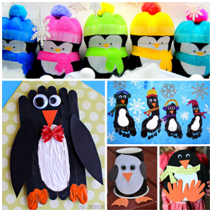 Creative Penguin Crafts for Kids to Make