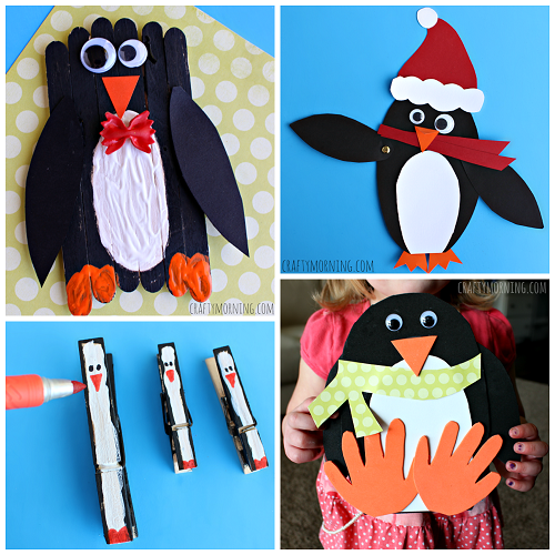 Penguin Crafts For Kids To Make