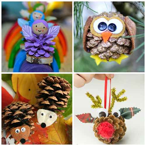 pine cone crafts for kids to make crafty morning ForPine Cone Crafts For Children