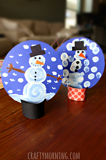 Toddler Snow Globe Craft