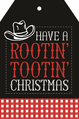 """Funny """"Rootin Tootin"""" Gift Idea + Free Printable Tags - Crafty Morning"""